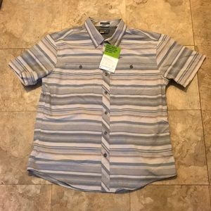NWT Eddie Bauer tech button up